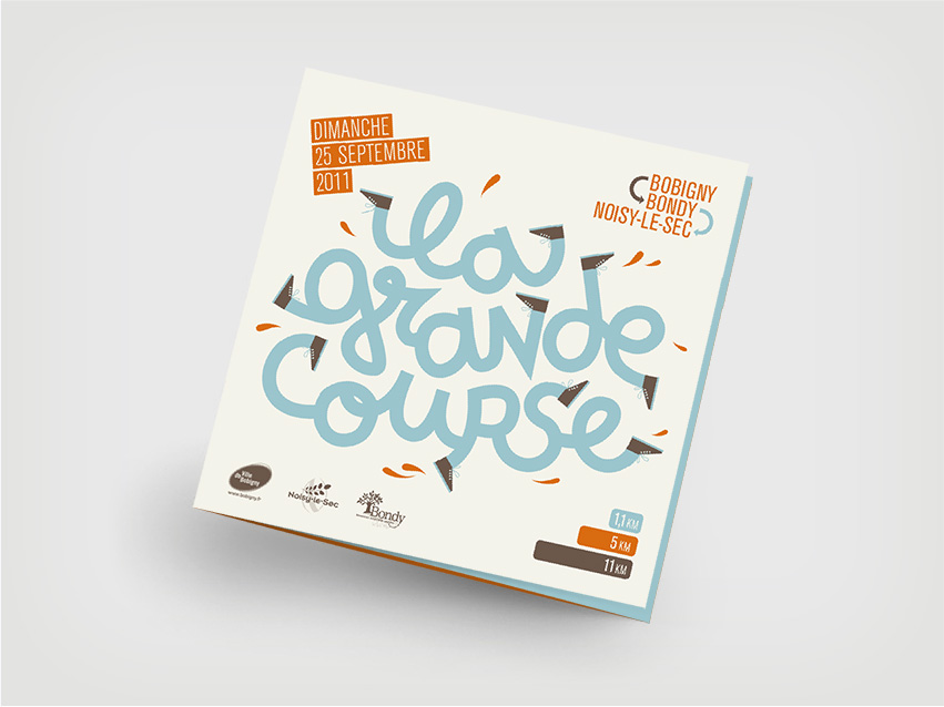 Couverture du flyer de la grande course