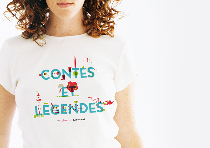 Design graphique du Tshirt