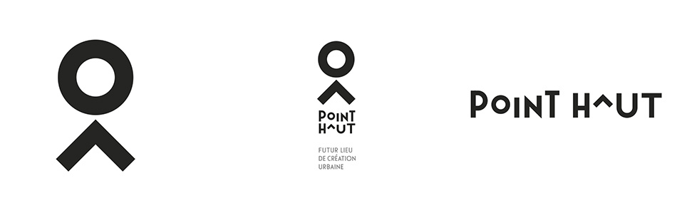 Identité visuel du Point Haut, lieu culturel