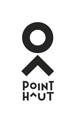 Logo du Point Haut, lieu culturel