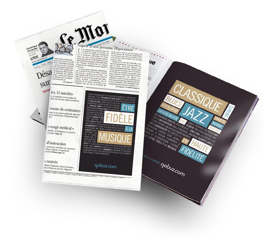 annonces presse dans les quotidiens et mensuels